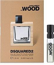 Парфюмерия и Козметика DSQUARED2 HE WOOD - Тоалетна вода (мостра)