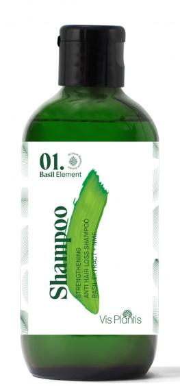 Укрепващ шампоан против косопад (мини) - _Element Basil Strengthening Anti-Hair Loss Shampoo