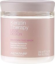 Парфюмерия и Козметика Маска за коса, овлажняваща - Alfaparf Lisse Design Keratin Therapy Rehydrating Mask