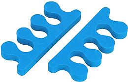 Парфюмерия и Козметика Разделители за педикюр, сини - Tools For Beauty Toe Separator Blue