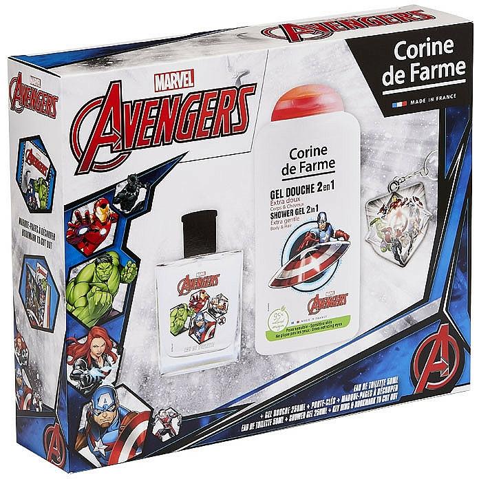 Marvel The Avengers - Комплект (тоал. вода/50ml + душ гел/250ml) — снимка N5