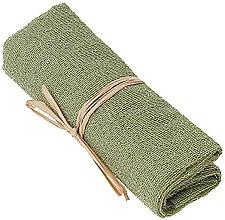Парфюмерия и Козметика Ексфолираща найлонова кърпа за тяло, зелена - The Body Shop Body Polisher