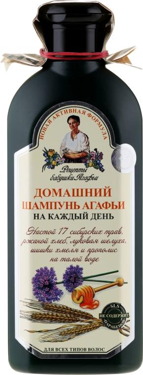 Шампоан за ежедневна употреба - Рецептите на баба Агафия