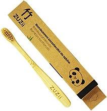 Парфюми, Парфюмерия, козметика Детска мека четка за зъби с бежови косъмчета - Zuzii Kids Soft Toothbrush