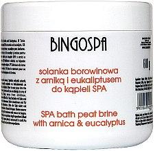 Парфюми, Парфюмерия, козметика Соли за вана с екстракт от арника и евкалипт - BingoSpa Brine Mud With Arnica And Eucalyptus