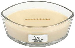 Парфюми, Парфюмерия, козметика Ароматна свещ в чаша - Woodwick Candle Ellipse Jar Vanilla Bean