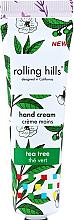 """Парфюмерия и Козметика Крем за ръце """"Чаено дърво"""" - Rolling Hills Tea Tree Hand Cream"""