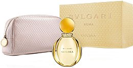 Парфюмерия и Козметика Bvlgari Goldea - Комплект парфюмна вода и козметична чанта (edp/90ml + bag)