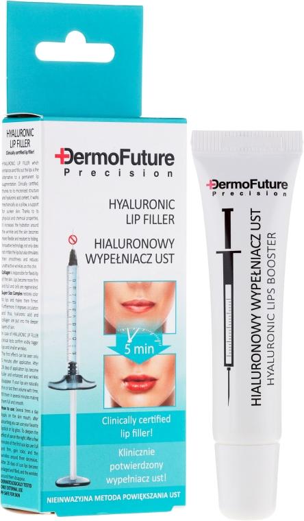 Серум за устни с хиалуронова киселина - DermoFuture Precision Hyaluronic Lip