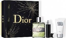 Парфюми, Парфюмерия, козметика Dior Eau Sauvage - Комплект (тоал. вода/100ml + душ гел/50ml + тоал. вода/mini/10ml)