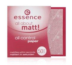 Парфюми, Парфюмерия, козметика Матиращи кърпички - Essence All About Matt Oil Control Paper