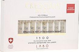 Парфюми, Парфюмерия, козметика Лосион-концентрат на ампули за възстановяване на растежа на косата при мъже - Crescina HFSC Re-Growth 1300