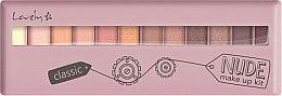 Парфюмерия и Козметика Палитра сенки - Lovely Classic Nude Make Up Kit