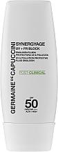 Парфюмерия и Козметика Емулсия с висока защита - Germaine de Capuccini Synergyage UV+FR Block Emulsion SPF50