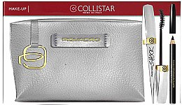 Парфюми, Парфюмерия, козметика Комплект - Collistar Mascara Shock (спирала/7ml + молив заочи/1,2g + козм. чанта)