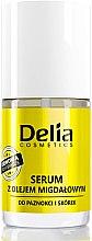 Парфюми, Парфюмерия, козметика Серум за нокти и кожички с бадемово масло - Delia Cosmetics Nail Serum