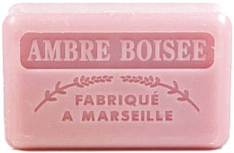 Парфюмерия и Козметика Марсилски сапун с кехлибар - Foufour Savonnette Marseillaise Ambre Boisee