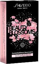 Парфюми, Парфюмерия, козметика Комплект - Shiseido Mascara Christmas Set (спирала/11.5ml+демакиант/30ml+червило/2.5g)