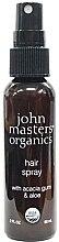 Парфюмерия и Козметика Лак за коса - John Masters Organics Hair Spray With Acacia Gum & Aloe (мини)