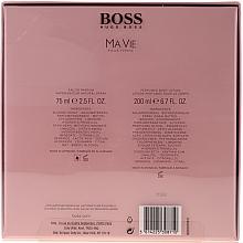 Hugo Boss Boss Ma Vie Pour Femme - Комплект (edp 75ml + b/l 200ml) — снимка N2