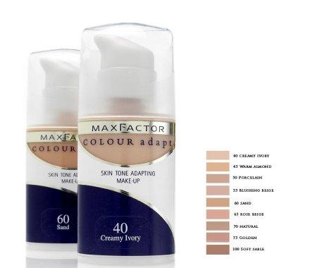 Фон дьо тен - Max Factor Colour Adapt — снимка N2