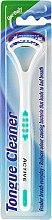 Парфюмерия и Козметика Почистваща четка за език, бяло-зелена - Beauty Formulas Active Oral Care Tongue Cleaner