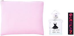 Парфюмерия и Козметика Guerlain La Petite Robe Noire Eau Fraiche - Комплект (тоал. вода/50ml + червило/011 + козм. чанта)