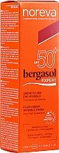 Парфюмерия и Козметика Слънцезащитен флуид за тяло - Noreva Laboratoires Bergasol Expert IFluid Cream Invisible Finish SPF50+