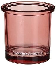 Парфюмерия и Козметика Чаша за свещ - Yankee Candle POP Coral Tealight Votive Holder