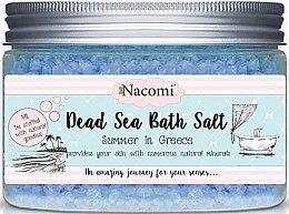 Парфюми, Парфюмерия, козметика Соли за вана от мъртво море с гръцки аромати - Nacomi Natural Greek Dead Sea Salt Bath