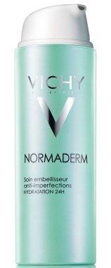 Средство за комплексна корекция на проблемна кожа - Vichy Normaderm Sain Embellisseur Anti-Imperfections Hydratation 24H — снимка N1