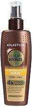 Парфюми, Парфюмерия, козметика Автобронзиращ спрей за лице и тяло - Kolastyna Luxury Bronze Tanning Spray