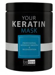 Изглаждаща и възстановяваща маска за коса с кератин - Beetre Your Keratin Mask