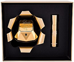 Paco Rabanne Lady Million - Комплект парфюмна вода (edp/80ml + edp/10ml) — снимка N2