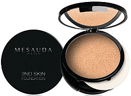 Парфюмерия и Козметика Фон дьо тен-пудра - Mesauda Milano 2ND Skin Foundation