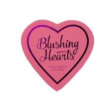 Парфюмерия и Козметика Руж - I Heart Revolution Blushing Hearts Blusher