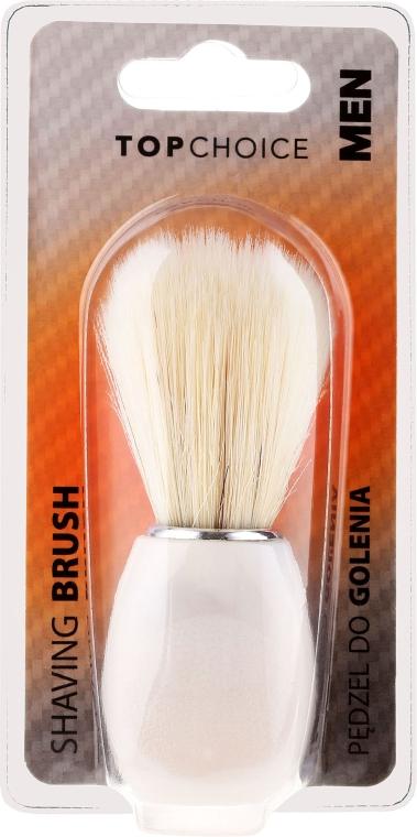 Четка за бръснене, бяла 30338 - Top Choice — снимка N1