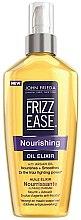 """Парфюми, Парфюмерия, козметика Масло за коса """"Подхранващ еликсир"""" - John Frieda Frizz Ease Nourishing Oil Elixir"""
