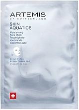 Парфюмерия и Козметика Овлажняваща маска за лице - Artemis of Switzerland Skin Aquatics Moisturising Face Mask