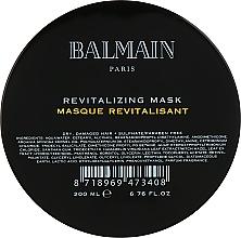 Парфюмерия и Козметика Възстановяваща и подхранваща маска за коса - Balmain Paris Hair Couture Revitalizing Mask