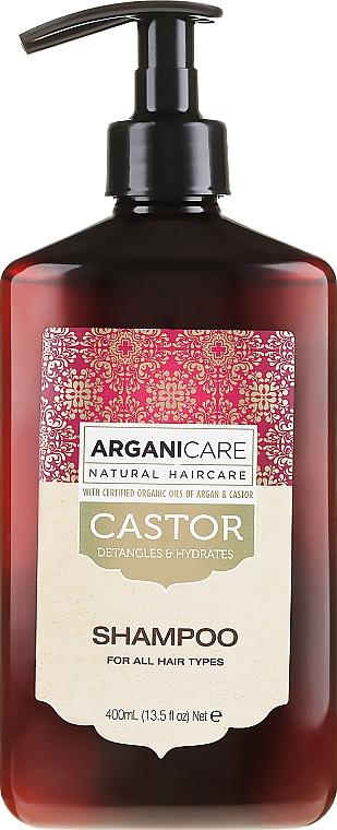 Шампоан за растеж на косата - Arganicare Castor Oil Shampoo