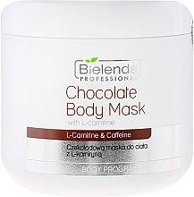 Парфюми, Парфюмерия, козметика Шоколадова маска за тяло с L-карнитин - Bielenda Professional Chocolate Body Mask