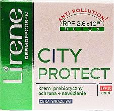 Парфюми, Парфюмерия, козметика Дневен крем за лице - Lirene City Protect Cream