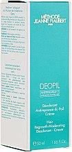 Парфюмерия и Козметика Дезодориращ крем, забавящ растежа на космите - Methode Jeanne Piaubert Deopil Creme Alcohol-Free Antiperspirant