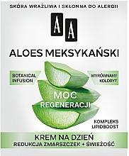 Парфюмерия и Козметика Дневен крем за лице с алое 50+ - AA Moc Energy Cream 50+