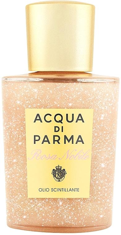 Acqua di Parma Rosa Nobile - Озаряващо масло за тяло — снимка N1