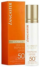 Парфюмерия и Козметика Слънцезащитен крем за лице - Lancaster Sun Perfect Infinite Glow Cream SPF50