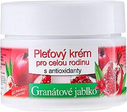 Парфюмерия и Козметика Семеен крем за лице с нар - Bione Cosmetics Pomegranate Facial Cream For The Whole Family With Antiox