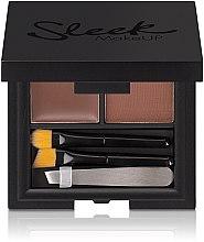 Парфюмерия и Козметика Комплект за оформяне на вежди - Sleek MakeUP Brow Kit