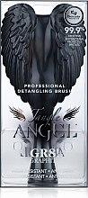 Четка за коса - Tangle Angel Brush Black (18.7 см) — снимка N3